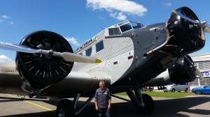 Rimova 2016  als Flugzeugmechaniker